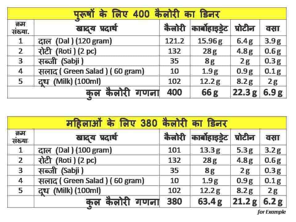 व ट ल स ड इट Weight Loss Diet Plan In Hindi Fityog