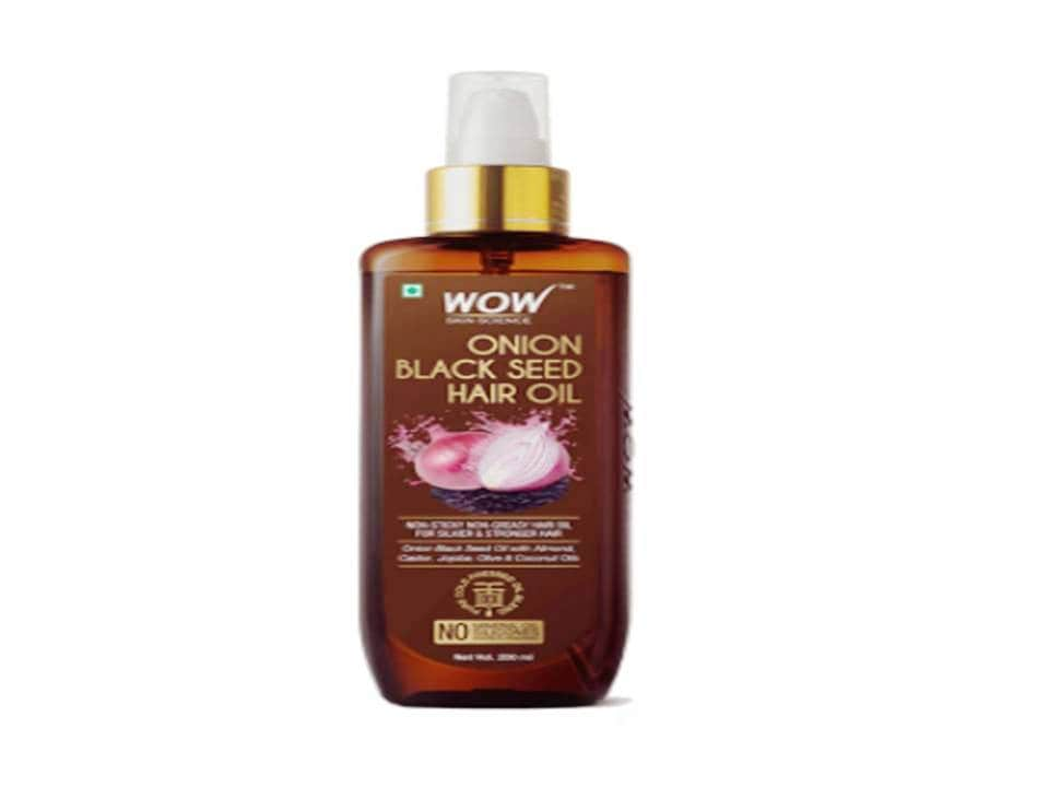 Wow Black Seed Onion Hair Oil-baal kale karne ka oil