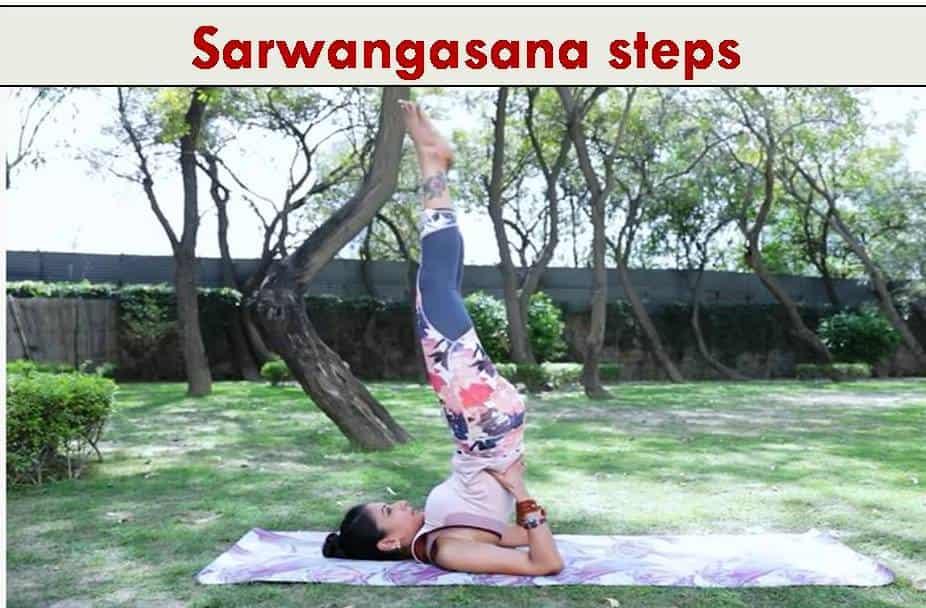 how to do sarwangasana steps 3